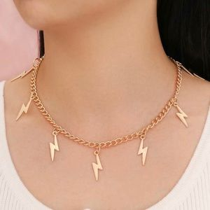 3/$30 💛 Lightning Bolt Necklace